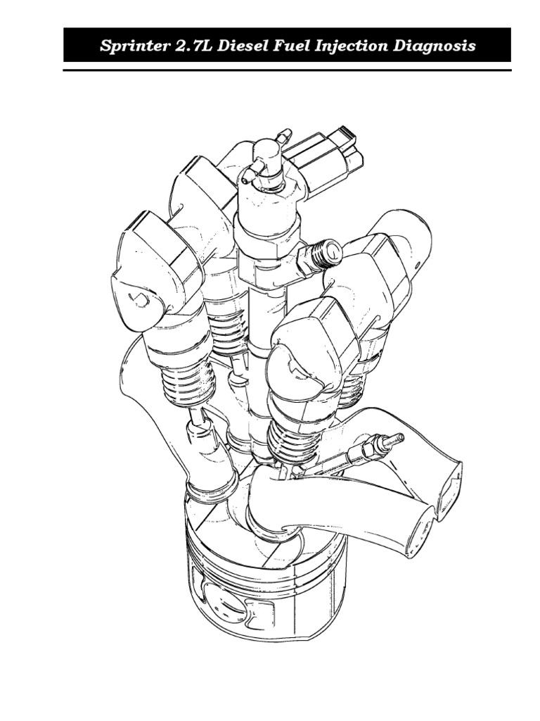 sprinter 2 7 liter diesel fuel injection diagnosissprinter