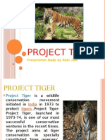 Ppt on Projec Tiger