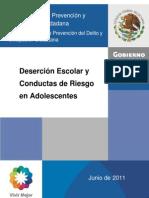Desercio¿n escolar y conductas de riesgo.pdf