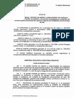 OMECS 4995/2015 privind Criteriile de Normare a personalului nedidactic si auxiliar din preuniversitar