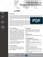 UCSTD-TDM v5.4