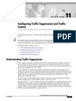 Configuring Traffic Suppression and Traffic Control