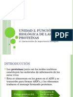 Metabolismo de Proteinas y Aminoacidos