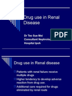 Drug use in Renal Disease