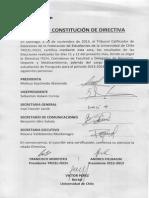 Acta constitución FECH 2013-2014