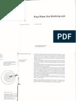 Paul Klee thinking eyes