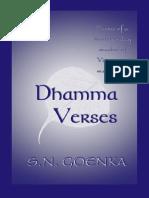 S.N. Goenka - Dhamma Verses