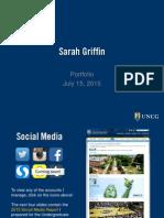 Sarah Griffin's Portfolio (2015)