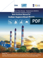 Manual for Super Critical Thermal Power Plants