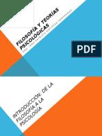 Filosofía y Teorías Psicológicas Clase i y II