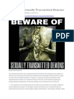 Beware of Sexually Transmitted Demons