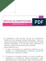 Expo Articulo 20 Constitucional