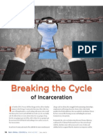 Breaking the Cycle of Incarceration from National Council Magazine 2015 Issue 1