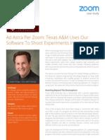 Zoom Case Texas