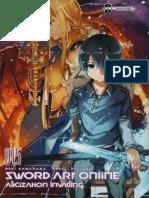 Sword Art Online 15 Alicization Invading en Español Completo
