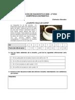 Evaluación diagnóstica competencia matemática 2º ESO_Asturias_2009