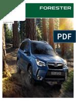 Forester Catalogo 2015