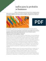Quince Desafíos Para La Profesión de Recursos Humanos
