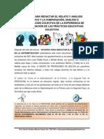 EL RELATO COLECTIVO - PROFOCOM