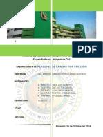 Informe 05 - Perdidad de Carga Por Friccion