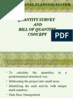 Quantity Survey