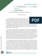 Estatuto de Autonomía Galicia