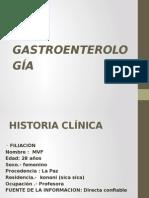 Gastroenterología presentacion
