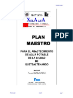 plan maestro aguas quetzaltenango