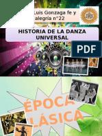 Historia de La Danza Universal