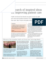 L21 - In Search of Inspired Ideas for Improving Patient Care