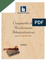 Compendio de Resoluciones Administrativas Tomo i y II