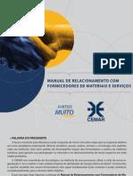 Manual de Relacionamento Com Fornecedores Da CEMAR