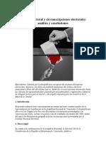 Sistema Electoral y Circunscripciones Elector Ales