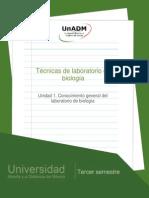 Unidad 1. Conocimiento General de Laboratorio de Biologia