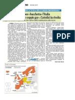 Coppie Gay. Il Parlamento UE bacchetta l'Italia