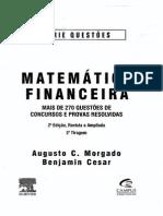 Matemática Financeira - 2º Edição - Ano 2006