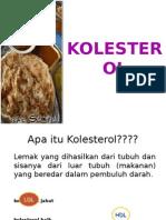 penyuluhan kolesterol
