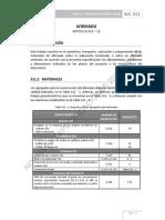311 AFIRMADO ESPECIFICACIONES