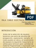 Pala Cable Eléctrica