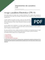 LTR-15 - Testando Os Componentes Da Lavadora Electrolux LTR-15