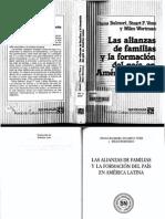 Las alianzas de familias y la formación del país en america latina