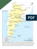 Argentina Mapa y Ciudades