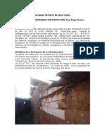 INFORME TÉCNICO ESTRUCTURAL DE UN COLEGIO