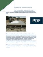 Fraguado y Endurecimiento Del Hormigon(Concreto)