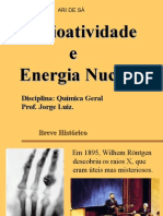 Radioatividade Energia Nuclear