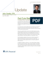 Compass Financial - Market Update April 30, 2008