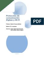 Protocolos de Comunicación Zigbee y Wi