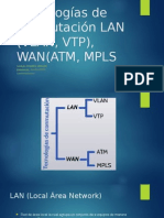 Tecnologías de Conmutación LAN (VLAN, VTP)