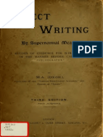 Rev. W. Stainton Moses - Direct Writing -By Supernormal Means