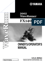 Yamaha FX140 Owners Manual